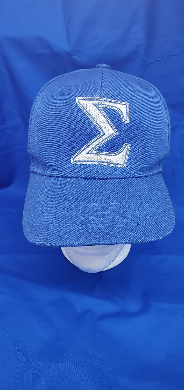 Sigma Blue Cap