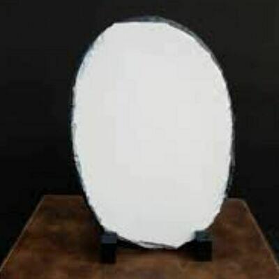 "5 1/2"" x 8"" Oval customizable Photo Stone"