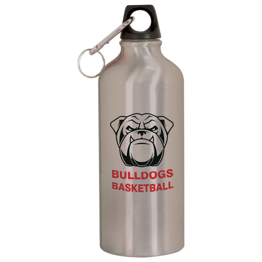20 oz. Silver Aluminum Water Bottle