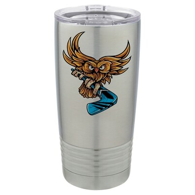 Polar Camel 20 oz. Stainless Steel Vacuum Insulated Tumbler w/Lid