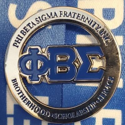 Phi Beta Sigma Lapel Pin