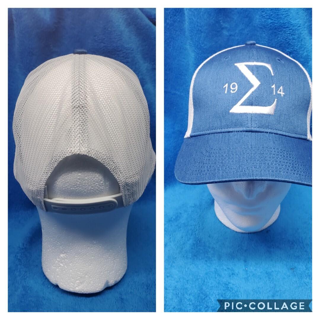 PBS Sigma 1914 Blue Cap