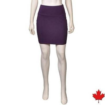 Women's Bamboo Mini Skirt