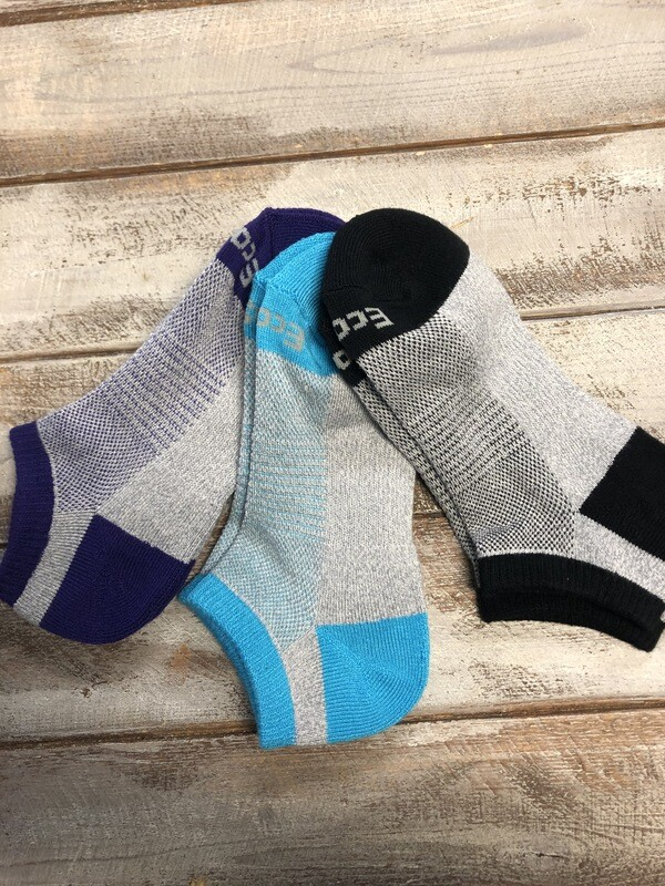 3-Pack Bamboo No-show socks