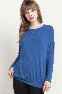 Long sleeve Tunic Top W/Pockets