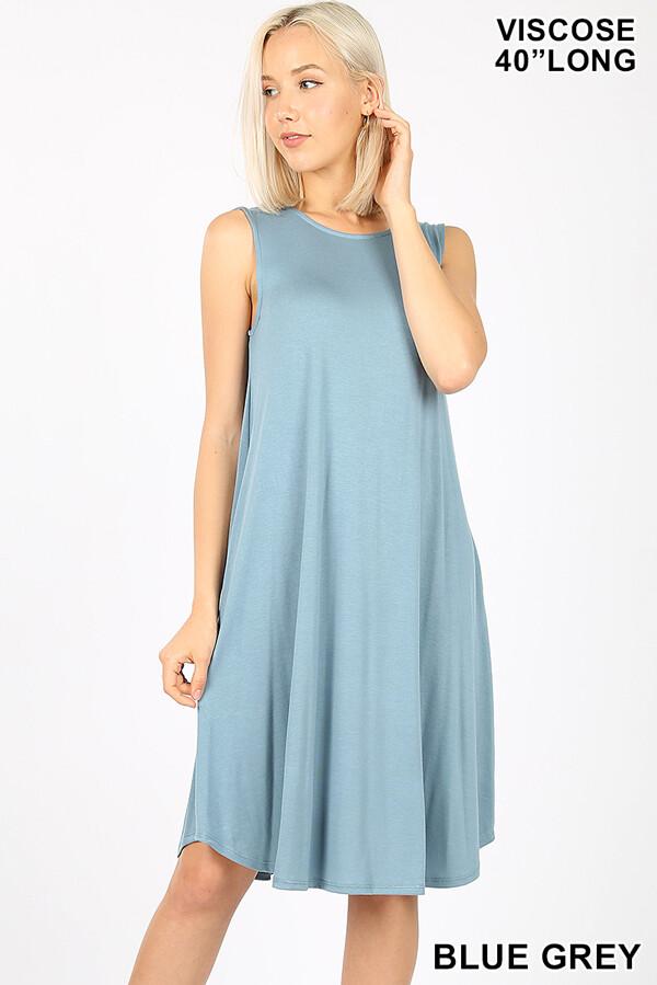 Sleeveless Bamboo Dress