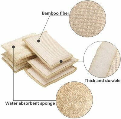 Bamboo Kitchen Cleaning Sponge