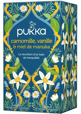 Infusion Camomille, Vanille, Miel
