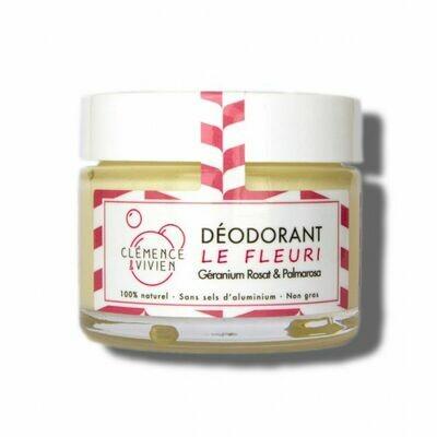 Déodorant Crème 100% naturel -  Le Fleuri
