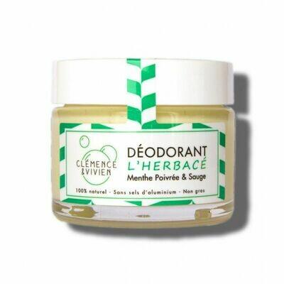 Déodorant Crème 100% Naturel - l'Herbacé