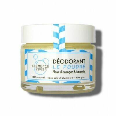 Déodorant Crème 100% naturel - Le Poudré