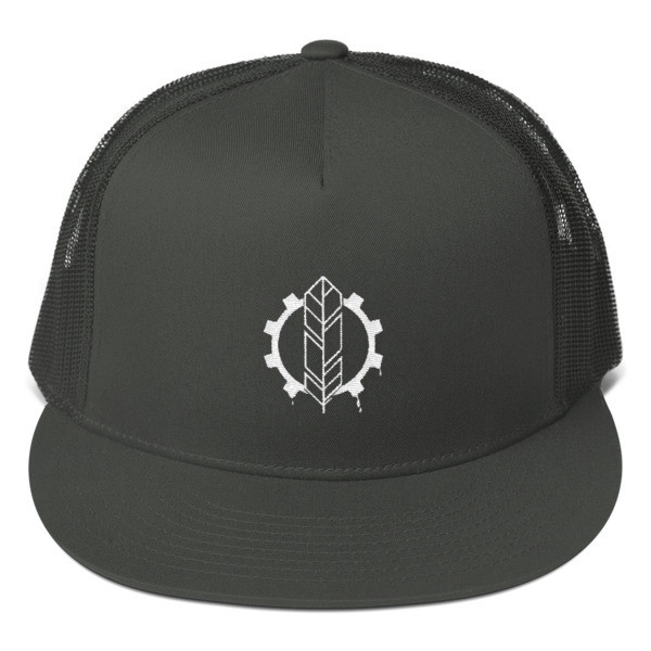 The Wise Bloods Emblem Mesh Back Snapback