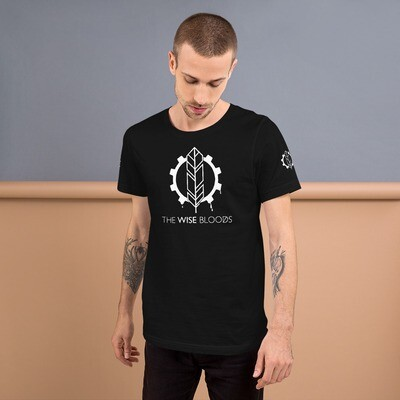 The Wise Bloods Unisex Logo and Text T-shirt