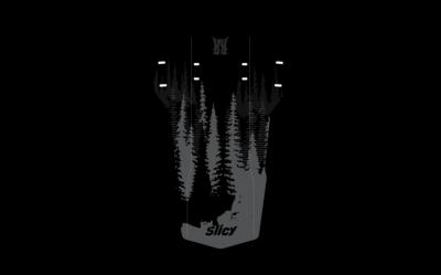 Slicy ENDURO - DH MUDGUARD - BLACK FOREST