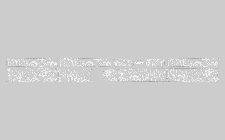 SUBLIMISTICK COLOR - TOPO WHITE