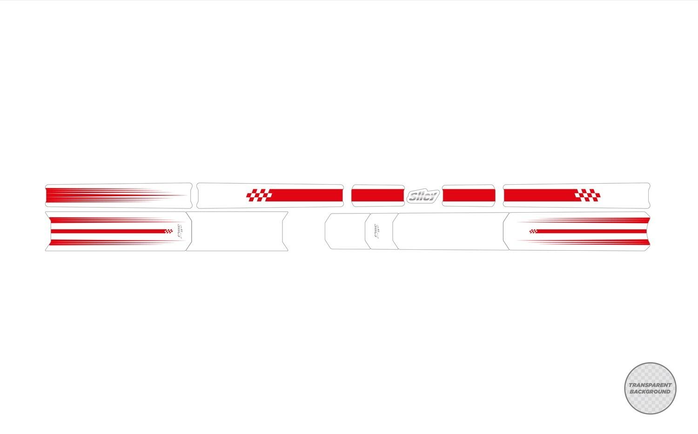 SUBLIMISTICK COLOR EVO - R-Lines Rød