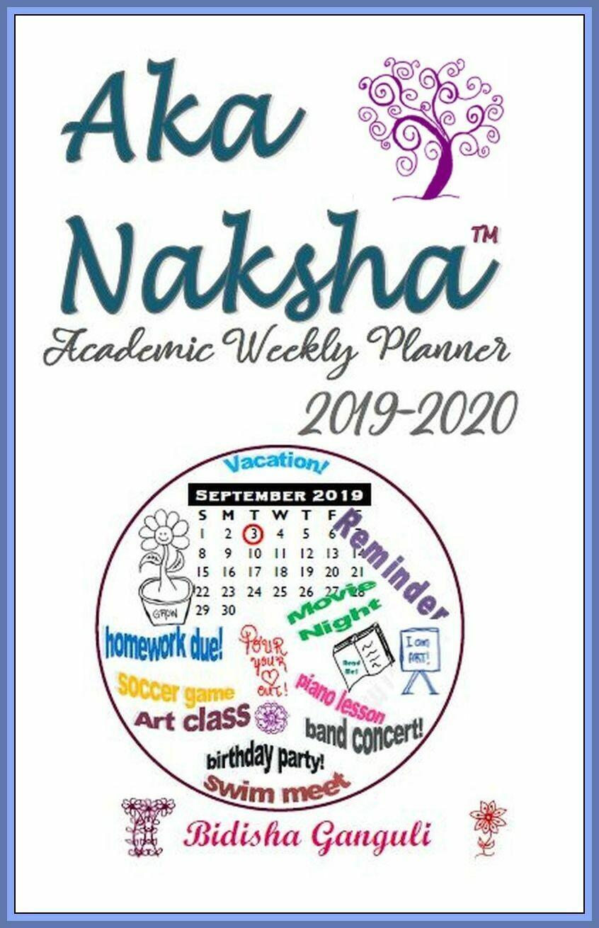 Aka Naksha Academic Weekly Planner - Free Pickup