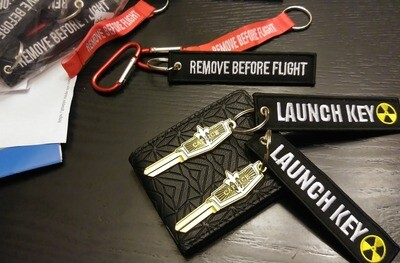 Remove Before Flight (Black)