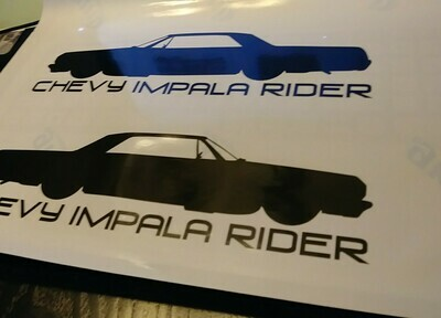 Ride Decal - 64 Impala