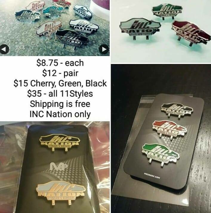 INC Pin Set