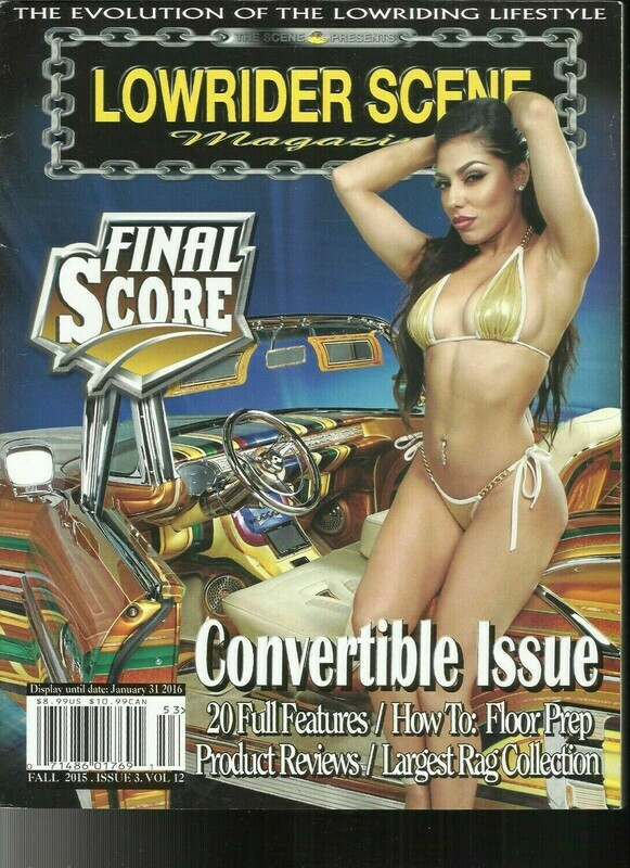 Lowrider Scene Magazine - Volume 12