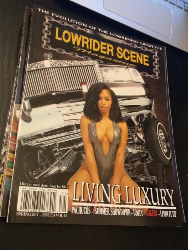 Lowrider Scene Magazine - Volume 16