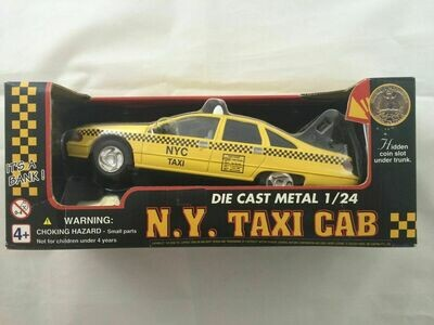 1/24 Scale Caprice Taxi Bank