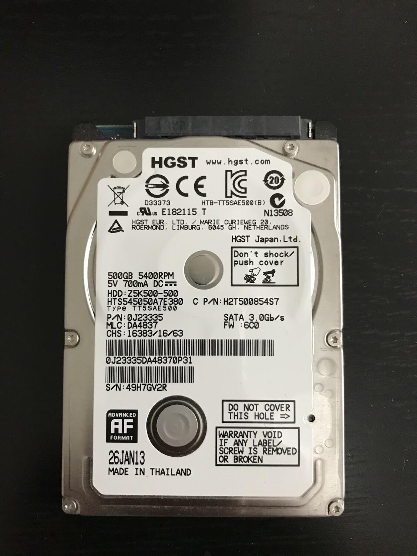 Hard disk 500 gb HGST