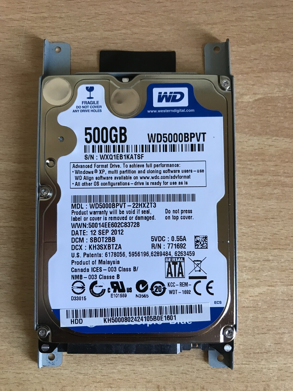 Hard disk 500 gb WD
