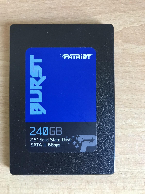 SSD Patriot 240 gb (Ricondizionato)