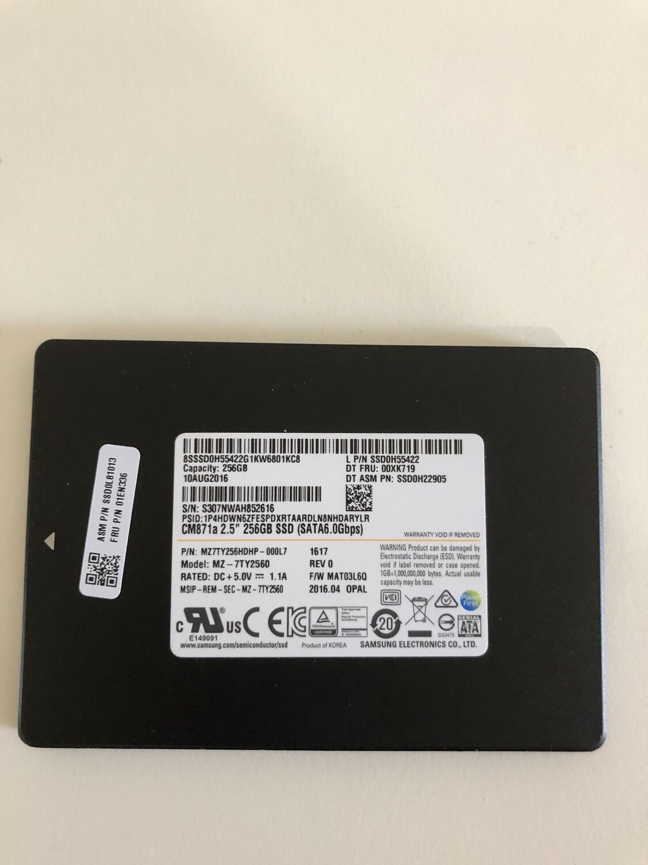 SSD interno Samsung 256 gb (Ricondizionato)