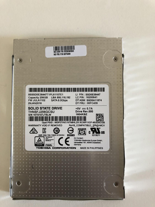 SSD interno Toshiba 256 gb (Ricondizionato)
