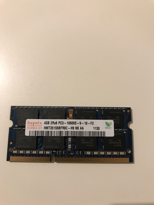 Memoria Ram 4 gb ddr3