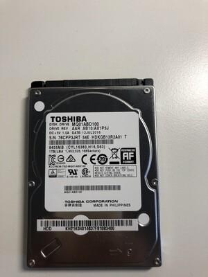 Hard disk interno 1 tb (1000 gb) Toshiba