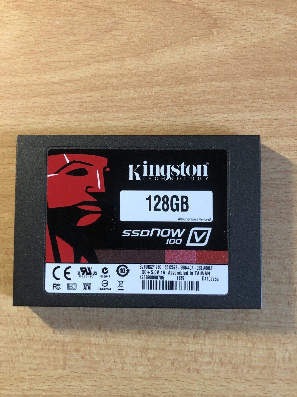SSD interno Kingston 128 gb (Ricondizionato)