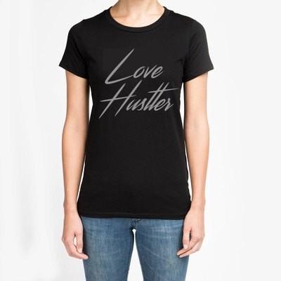 Classic Love Hustler Logo T - (Women's)
