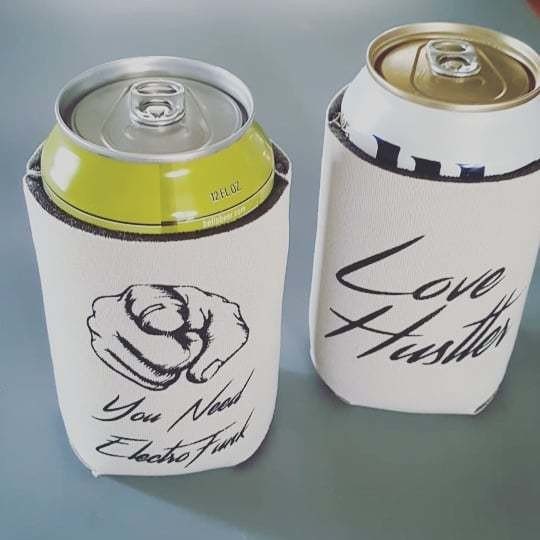 Love Hustler Drink Coozie