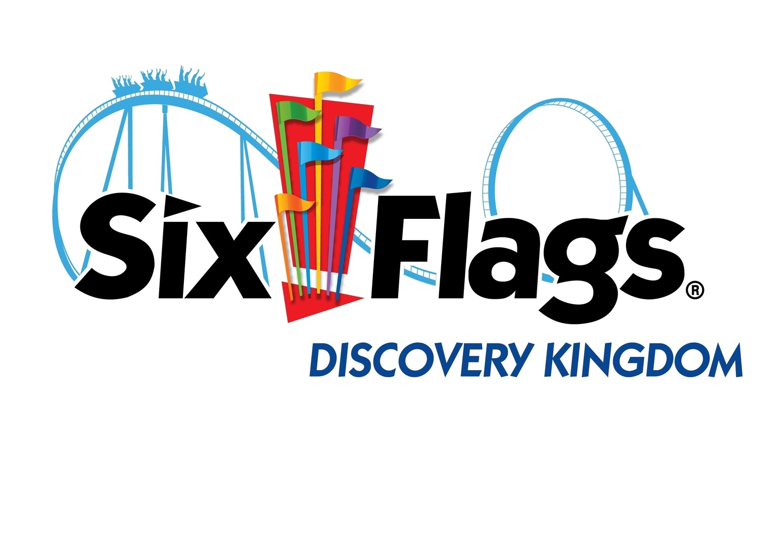 SIX FLAGS DISCOVERY KINGDOM 1 DAY ADMISSION