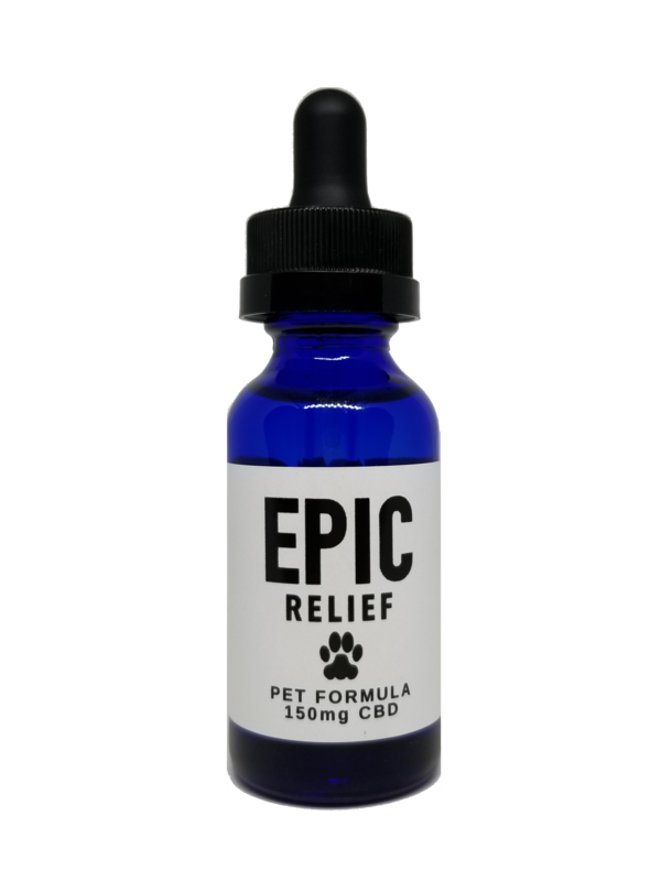 Pet Relief 150mg CBD Isolate Tincture