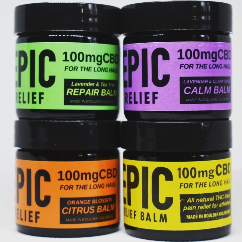 Epic Relief 100mg Original Pain Relief CBD Topicals