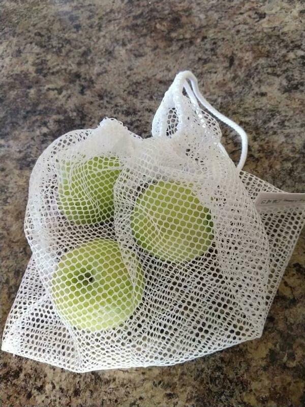 Reusable Produce Bag; pack of 3; Shopping bag
