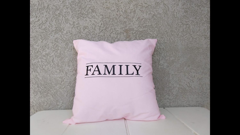 14x14 handmade pillowcase