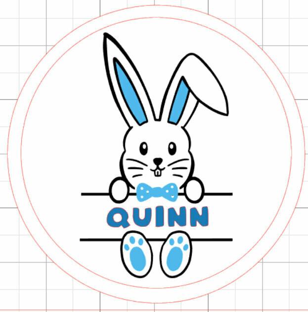 Easter Basket Acrylic tag