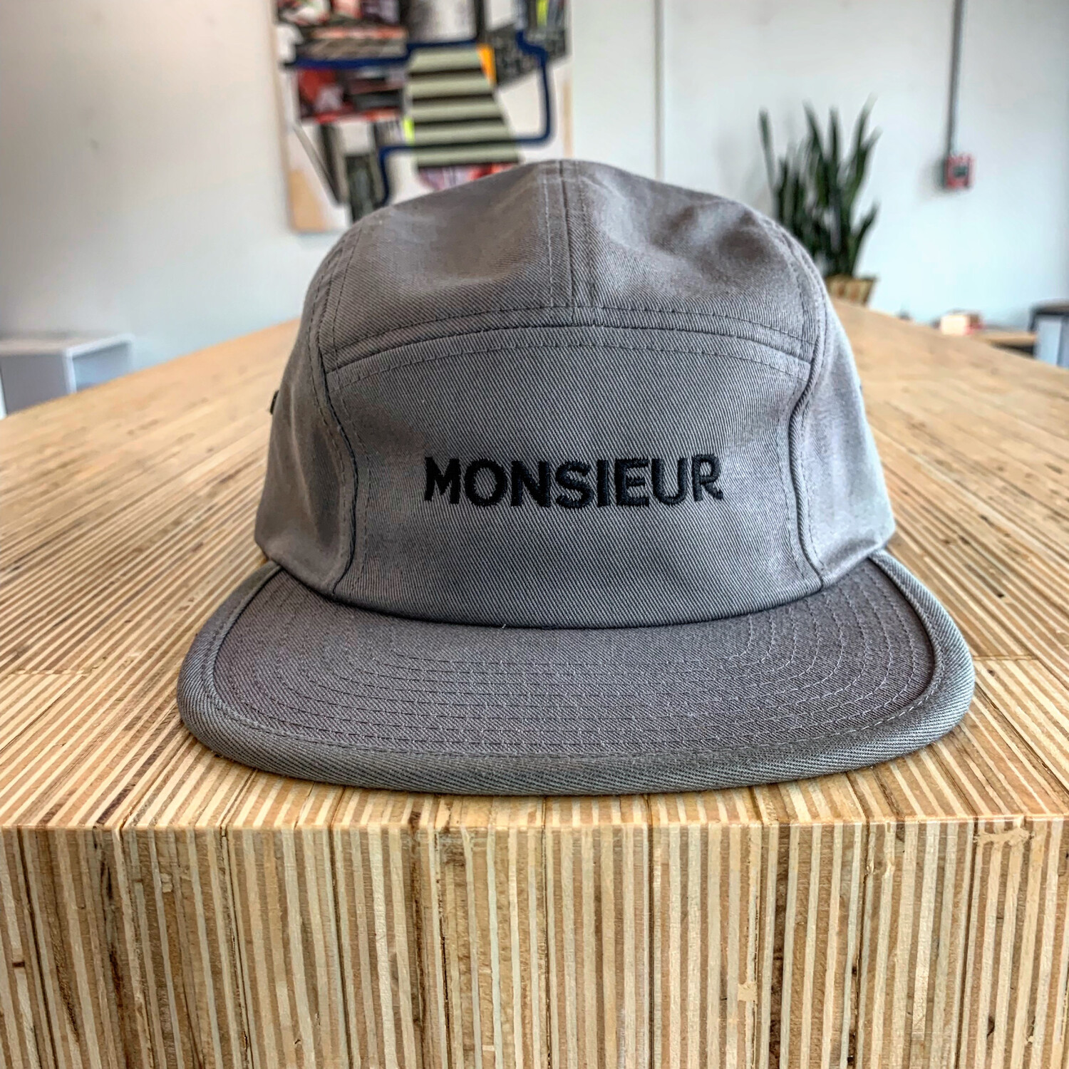 Monsieur Five Panel Cap