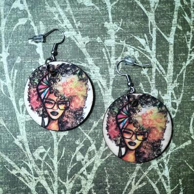 Beauty & Brains Small Circle Earrings