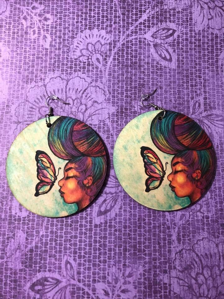 Empowered by Peace Jumbo Earrings