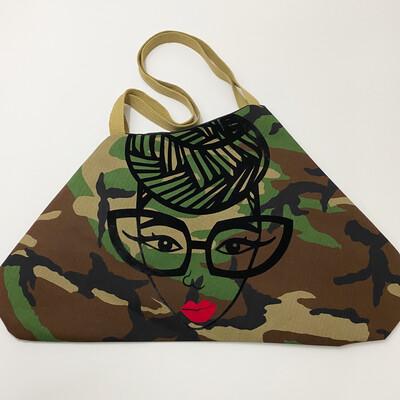 Genius Camo Xl Tote Bag