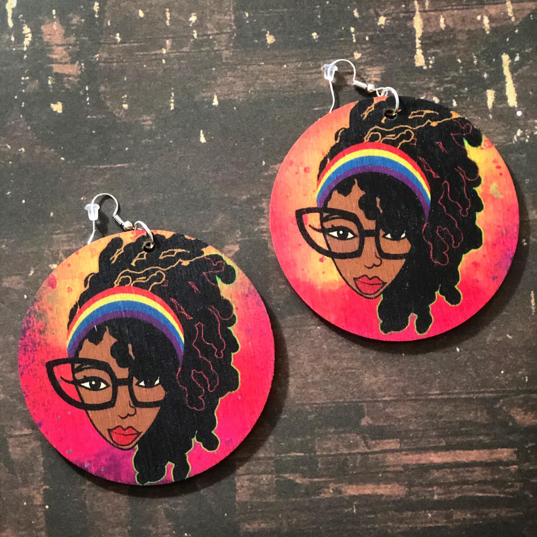 Loc Genius Retro Jumbo Circle Earrings