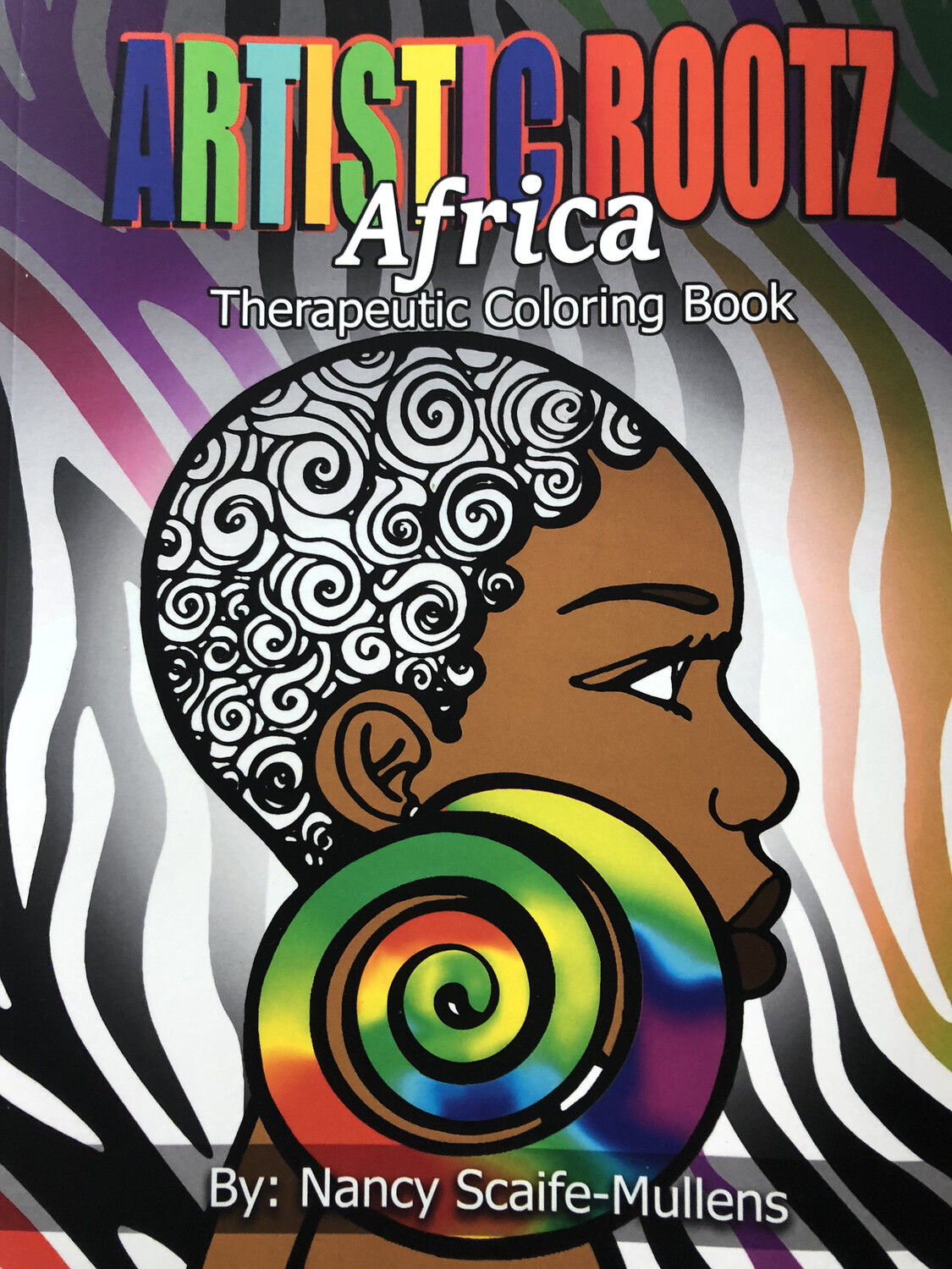 """Artistic Rootz Therapeutic """"Africa"""" Coloring Book"""