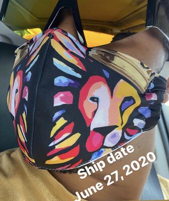 Lion Of Judah Mask